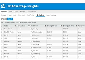 HP JetAdvantage Insights Cloud