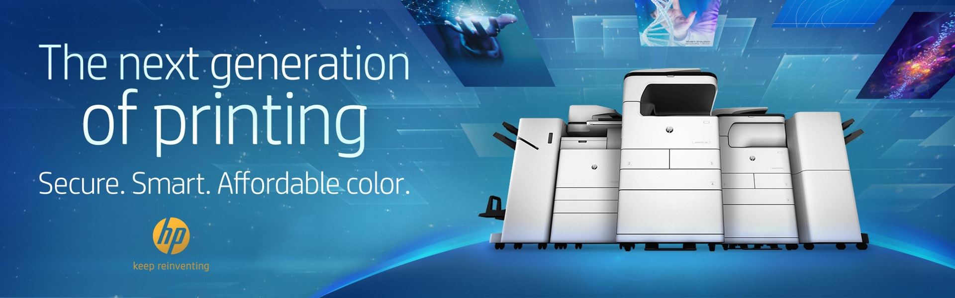 HP A3 Next generation of printing dtb office solutions Kopierer Multifunktionsdrucker Laserdrucker
