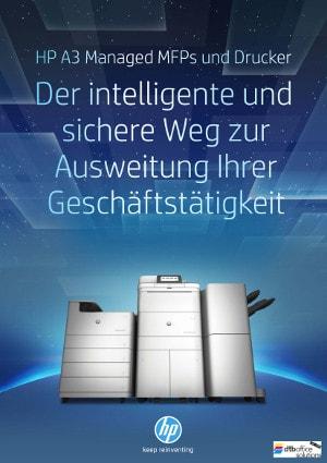 HP A3 Smart Devices für intelligenteres Drucken bei der dtb office solutions